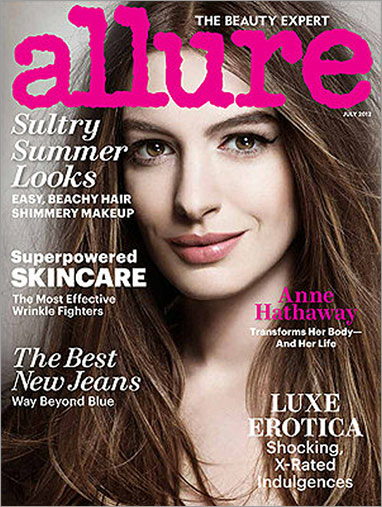 The Beauty Expert - ALLURE - Anne Hathaway