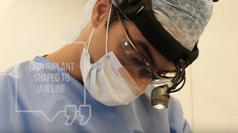 Watch Video: How is a Chin Implant Surgery completed? Dr. Julian De Silva customizes & sculpts each implant