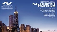 Asoprs 47th Annual Fall Scientific Symposium