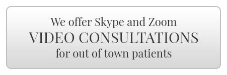We offer Skype and Zoom Video Consultations for out of town patients