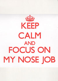 Patient Testimonials: Keep Calm and Focus on my nose job | patient 2