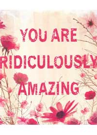 Patient Testimonials: You are ridiculously Amazing | patient 35